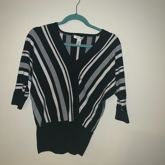 White House Black Market Sweaters - White House black market striped sweater